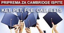 proprema cambridge ispita
